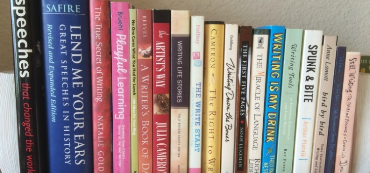 From My Bookshelf: Favorite Books About Writing